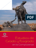 Memoria General Estudios Univ Complutense de Madirid-2019