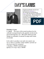 faraday laws