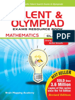 (BMA Olympiad Exams Resource Book Class 7 Math Brain Mapping Academy Hyderabad for IIT JEE Foundation) Brain Mapping Academy Hyderabad Teachers and Experts - Talent and Olympiad Exams Resource Book Cl