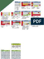 Kalender Kegiatan Ospa 2019-2020