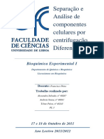Separação e Análise de Componentes Celulares Por Centrifugação Diferencial