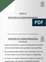 Proteção de transformadores