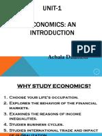 Unit a Economics Basics