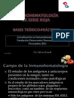 Inmunohematología de la serie roja