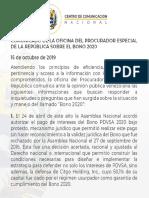 "Asamblea Nacional de Venezuela rechaza bonos de PDVSA por ""ilegales"
