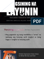 Pangsining Na Layunin