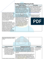 f18 vr lesson planning guide