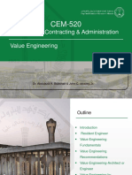 16-CEM-520 Chapter 16 Value Engineering