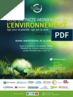 CDJ Pacte Mondial Pour Lenvironnement Programme