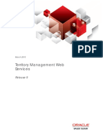Territory Management Web Services