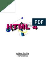 CAMINHA, Adriano. HTML 4