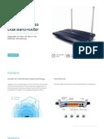TP Link Archer C50 Datasheet
