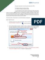 Procedimiento Para Importar Un Dtsx_rev0.1