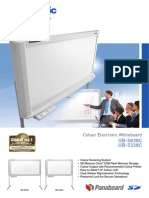 Panasonic Electronic White Board