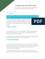 Evidencias Sobre a Suplementaçao e 5-Htp