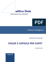 Cialde e Capsule Per Caffè 2019