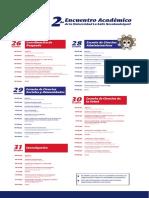EncuentroAcademico Oct19 Programa