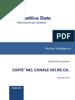 Caffè Nel Canale Horeca 2019
