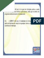 Exercicios Licitacoes Modulo 20