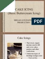 CAKE ICINGS