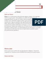 Significado de Gozo (Qué Es Concepto y Definición) - Significados