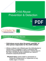Child abuse ppt