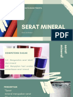 3.4 Serat Mineral