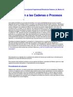 Introducción a Las Cadenas o Procesos de Markov