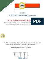 _27.3.8 - Forced Vibrations