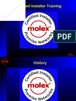 MOLEX Certified Installer