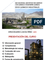 Pqi - 2019 - Capitulo 1 - Procesos Quimicos Industriales y Procesos Industriales Sostenibles