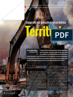 Extractivismo en Bolivia
