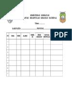 Formulir Daftar Rekapitulasi Kematian Maternal (Revisi 2 (2)