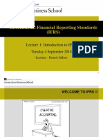 Lecture 1 Introduction to IFRS