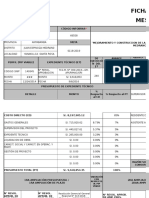 Ficha Técnica de Proyecto - Infobras -Agosto 2019