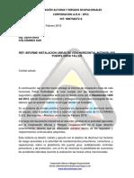 Informe Instalacion Linea de Vida Horizontal Rothoblass Colcranes