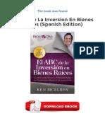 El ABC de La Inversion en Bienes Raices Spanish Edition Epub Gratuit