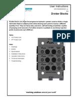 Compressor divider Block instruction