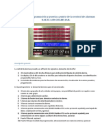 Manual de central de alarmas NOLLMED - NAL32-LCD