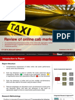 1. Analyst Report Online Cab Market in India CY16