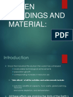Degradation Material and Green Building and Material
