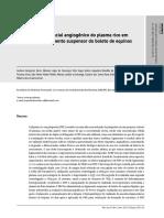 Avaliação Do Potencial Angiogênico Do PRP