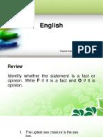 Ppt lesson English