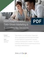 Data Driven Marketing Decision Making