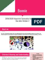 bonnie apis - 2019 2020 visual arts summative assessment q1