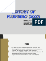 GROUP D History of Plumbing (2000s)