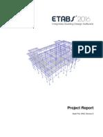 Project Report ETABS