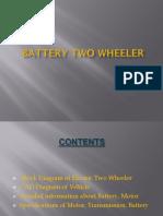 Battery Two Wheeler Seminar Bharat