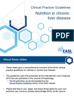 Nutrition in Chronic Liver Disease EASL CPG