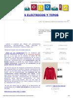 Cables Eléctricos y Tipos Cables Conductores